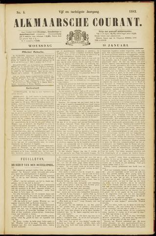 Alkmaarsche Courant 1883-01-10
