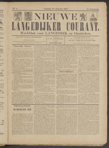 Nieuwe Langedijker Courant 1895-01-20