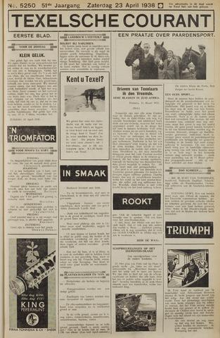 Texelsche Courant 1938-04-23