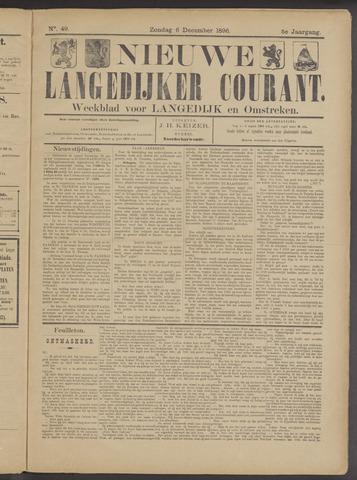 Nieuwe Langedijker Courant 1896-12-06