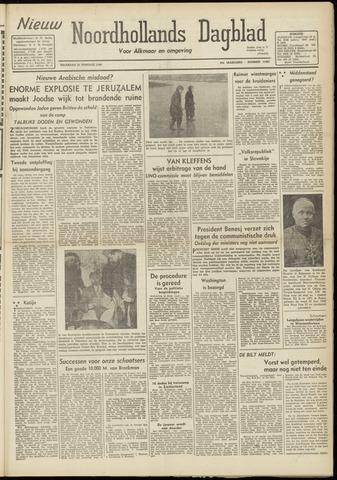 Nieuw Noordhollandsch Dagblad : voor Alkmaar en omgeving 1948-02-23