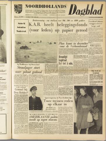 Noordhollands Dagblad : dagblad voor Alkmaar en omgeving 1960-11-16