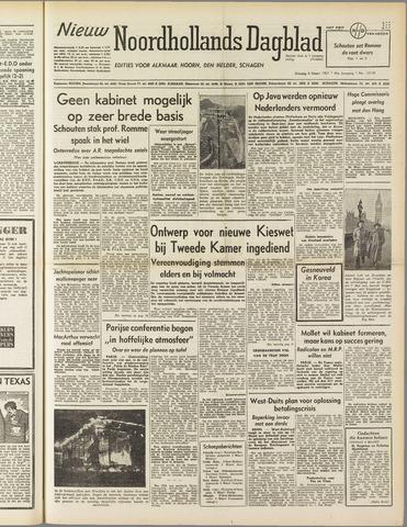 Nieuw Noordhollandsch Dagblad : voor Alkmaar en omgeving 1951-03-06