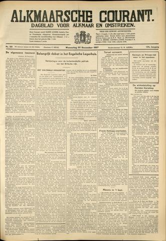 Alkmaarsche Courant 1937-12-22