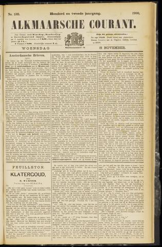 Alkmaarsche Courant 1900-11-21