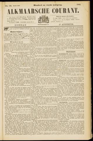Alkmaarsche Courant 1902-08-17