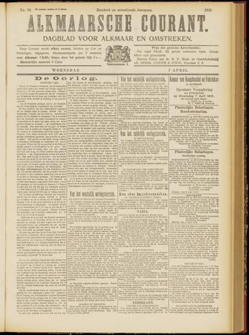 Alkmaarsche Courant 1915-04-07