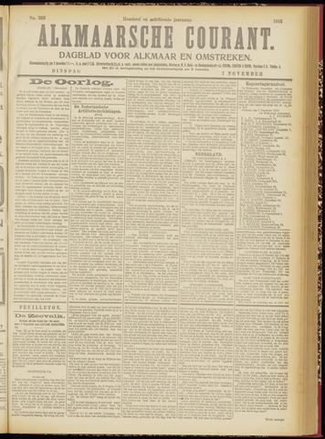 Alkmaarsche Courant 1916-11-07