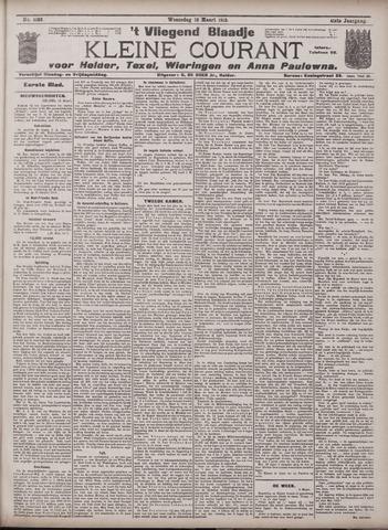 Vliegend blaadje : nieuws- en advertentiebode voor Den Helder 1913-03-12