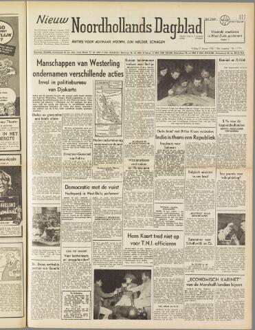 Nieuw Noordhollandsch Dagblad : voor Alkmaar en omgeving 1950-01-27