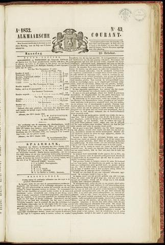 Alkmaarsche Courant 1852-10-25