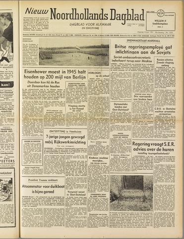 Nieuw Noordhollandsch Dagblad : voor Alkmaar en omgeving 1952-06-16