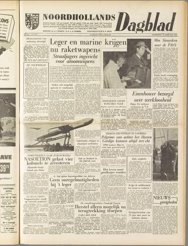 Noordhollands Dagblad : dagblad voor Alkmaar en omgeving 1958-02-13