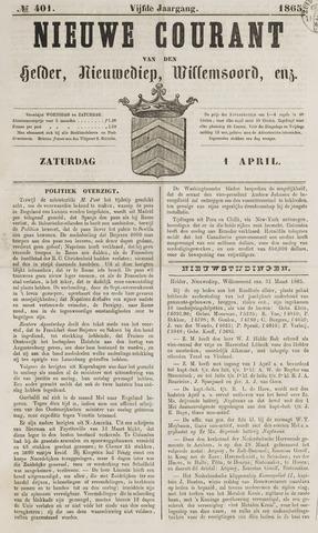 Nieuwe Courant van Den Helder 1865-04-01