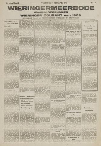 Wieringermeerbode 1942-02-04
