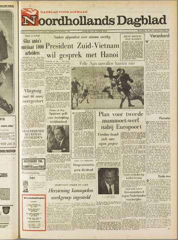 Noordhollands Dagblad : dagblad voor Alkmaar en omgeving 1967-10-12