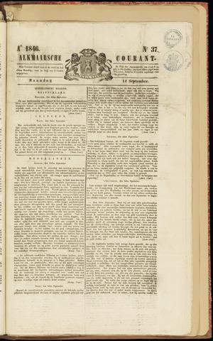 Alkmaarsche Courant 1846-09-14