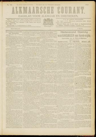Alkmaarsche Courant 1919-05-08