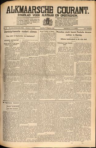 Alkmaarsche Courant 1939-08-19