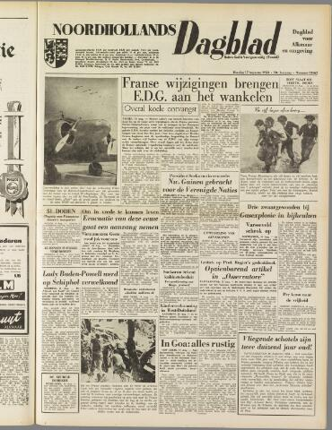 Noordhollands Dagblad : dagblad voor Alkmaar en omgeving 1954-08-17