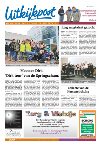 Uitkijkpost : nieuwsblad voor Heiloo e.o. 2015-01-28
