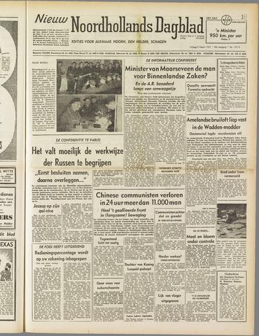 Nieuw Noordhollandsch Dagblad : voor Alkmaar en omgeving 1951-03-09