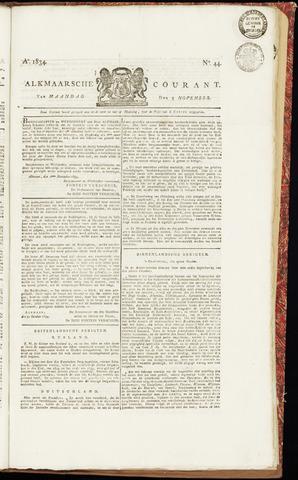 Alkmaarsche Courant 1834-11-03