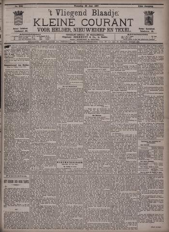 Vliegend blaadje : nieuws- en advertentiebode voor Den Helder 1897-06-23