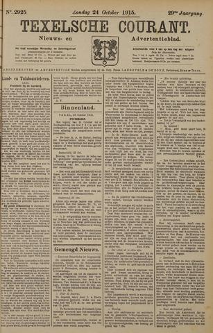 Texelsche Courant 1915-10-24