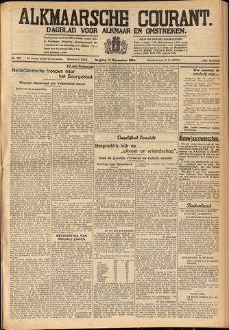 Alkmaarsche Courant 1934-12-14