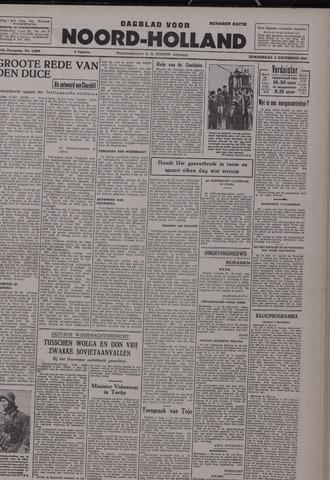 Dagblad Noord-Holland, Schager editie 1942-12-03