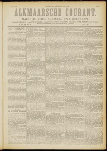 Alkmaarsche Courant 1916-07-19