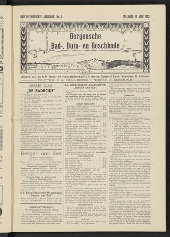 Bergensche bad-, duin- en boschbode 1932-06-18