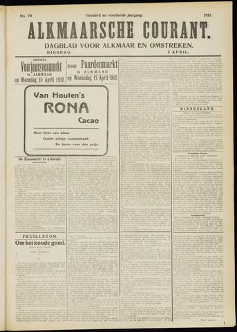 Alkmaarsche Courant 1912-04-02