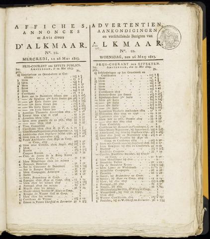 Alkmaarsche Courant 1813-05-26
