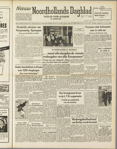 Nieuw Noordhollandsch Dagblad : voor Alkmaar en omgeving 1951-12-03