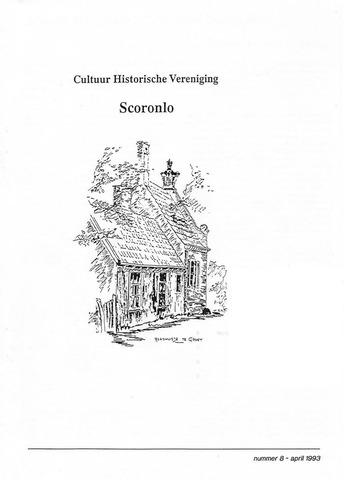 Tijdschrift van cultuurhistorische vereniging Scoronlo 1993-04-01