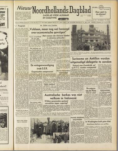 Nieuw Noordhollandsch Dagblad : voor Alkmaar en omgeving 1952-02-29