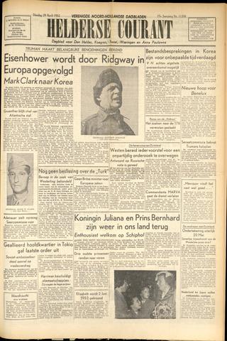Heldersche Courant 1952-04-29