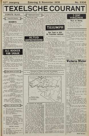 Texelsche Courant 1938-11-05