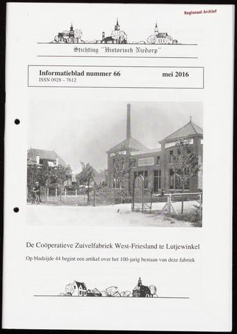 Informatieblad stichting Historisch Niedorp 2016