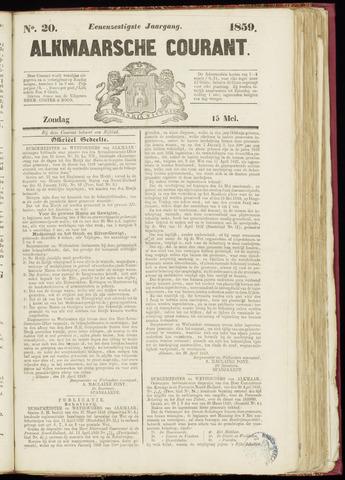 Alkmaarsche Courant 1859-05-15
