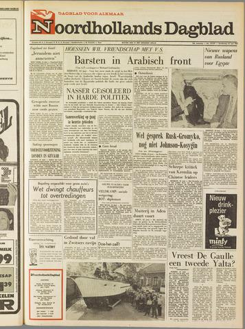Noordhollands Dagblad : dagblad voor Alkmaar en omgeving 1967-06-22