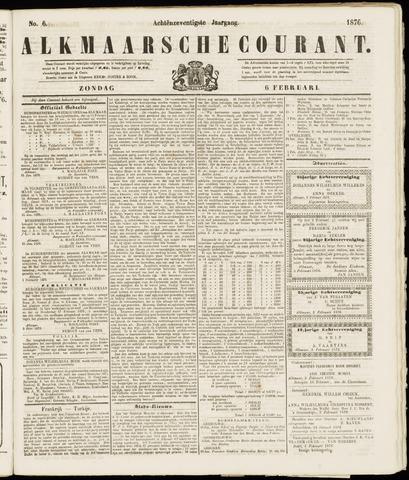 Alkmaarsche Courant 1876-02-06