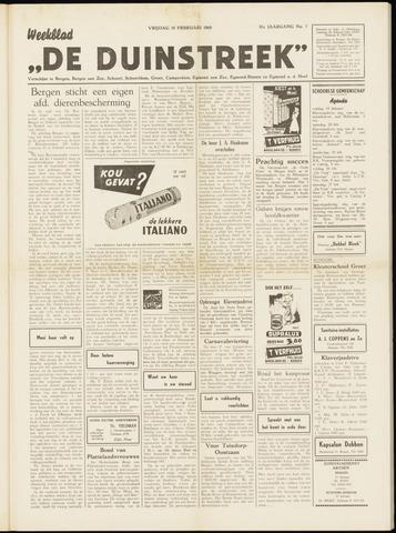 De Duinstreek 1960-02-19