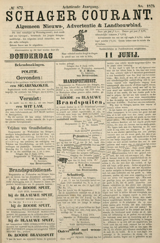 Schager Courant 1874-06-11