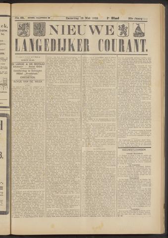 Nieuwe Langedijker Courant 1923-05-12