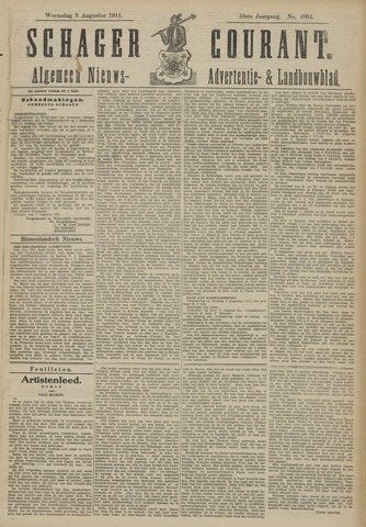 Schager Courant 1911-08-09