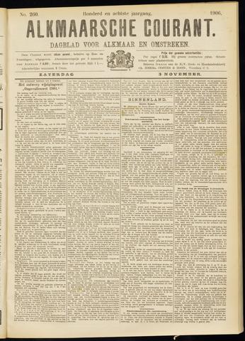 Alkmaarsche Courant 1906-11-03