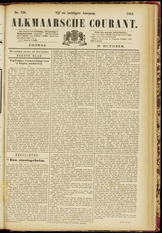 Alkmaarsche Courant 1883-10-28